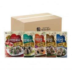 맛있는풍경 주먹밥 24g, 20개, 1박스 (한우,닭가슴살,야채,버섯,해물) 이미지