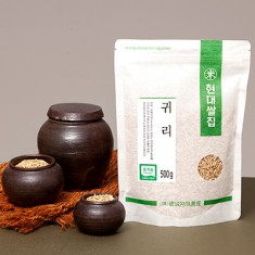 [현대쌀집] 유기농 귀리 500g 이미지
