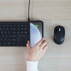 [파우트] 무선충전패드 결합 키보드 + 무선충전식 저소음 마우스 HANDS5 COMBO 이미지