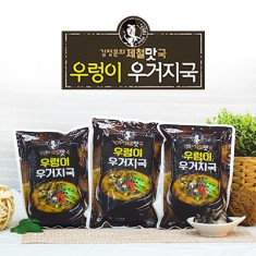 [아자픽]어머니가 끓여주시던 정겨운 구수한 맛! 김정문의 우렁이우거지국 650g*5팩 이미지