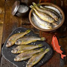 [하늘물고기] 느림의 미학 자연산 바다품은 참조기건정(냉동건조생선) 선물세트 2호(20미) 이미지