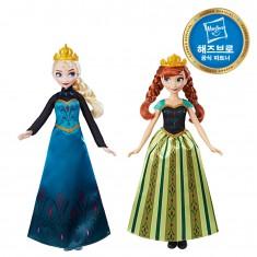 겨울왕국 드레스 체인지 패션돌 이미지